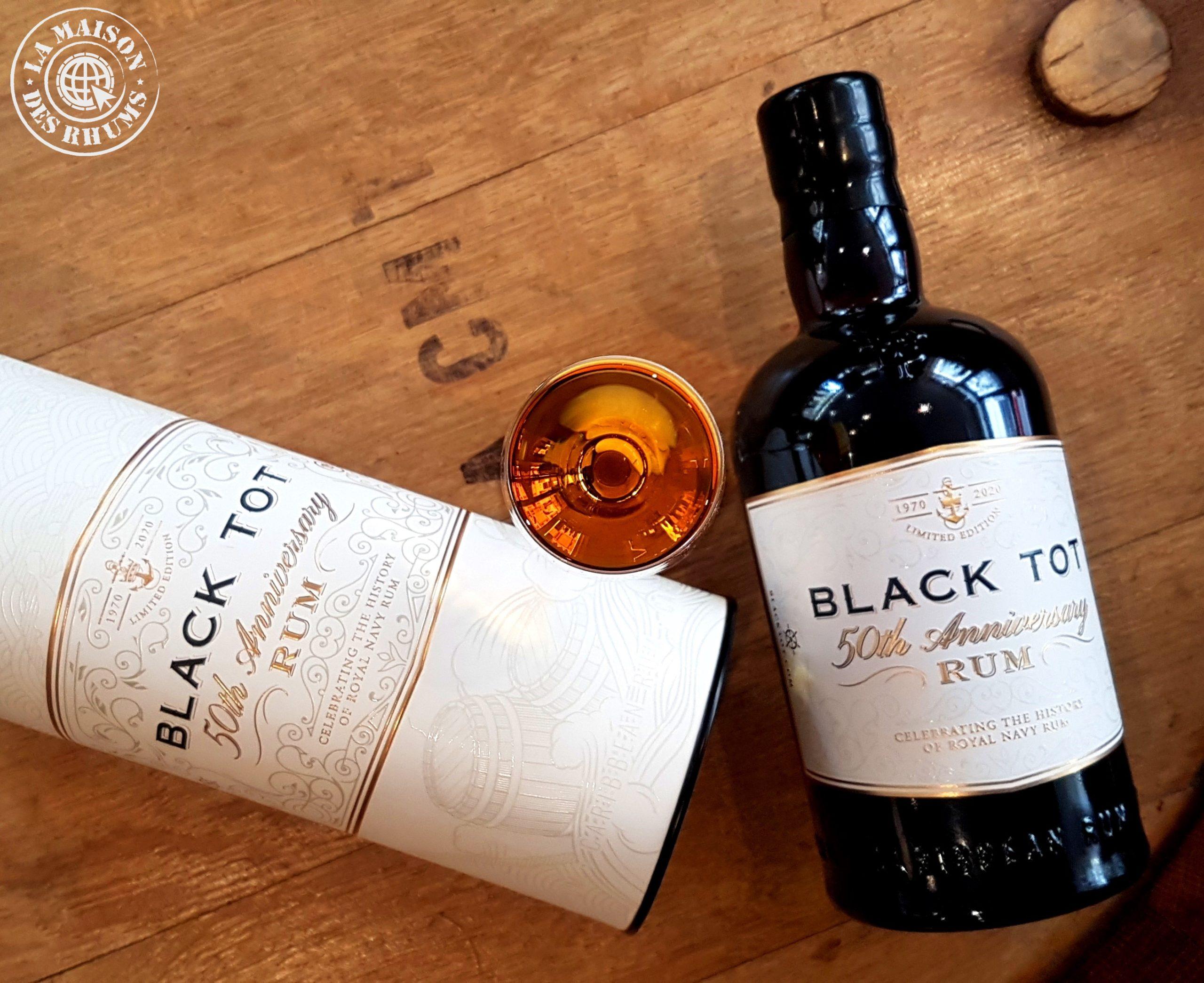 Dégustation : Black Tot 50th Anniversary Rum
